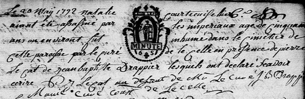 Massacre Rumegies 1792