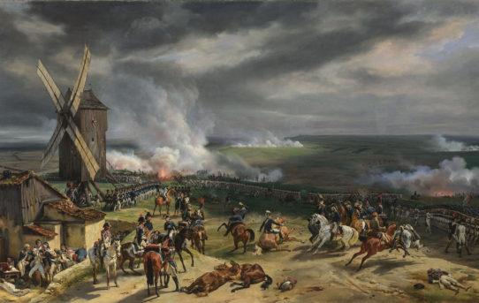 La bataille de Valmy. le 20 septembre 1792, peinture d'Horace Vernet, 1826. Source : Wikipédia, la bataille de Valmy